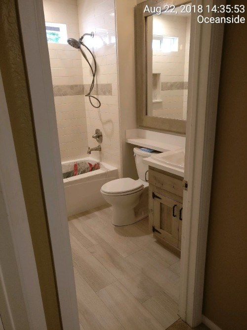 Bathroom Renovation Oceanside